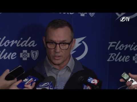 Tampa Bay Lightning GM Steve Yzerman likes potential in development camp