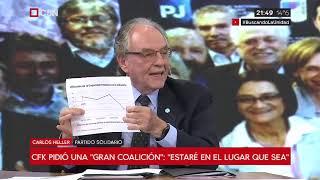 14-05-2019 - Carlos Heller en C5N – Minuto Uno, con Gustavo Sylvestre – Capacidad instalada ociosa