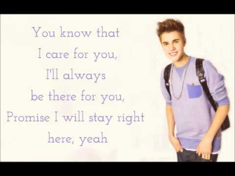 Justin Bieber - Be Alright Lyrics