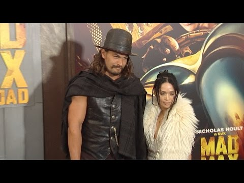 "Jason Momoa & Lisa Bonet ""MAD MAX Fury Road"" Los Angeles Premiere"