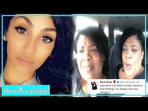 Queen Naija MOM ClapsBack after Queen release her