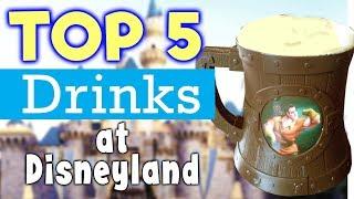 Top 5 Drinks at Disneyland