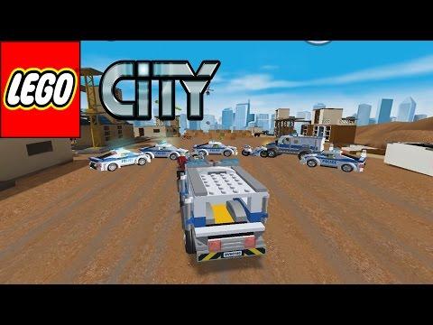 LEGO City My City (1 - 2) - Lego Police Chase   Police Car - gameplay Walkthrough android/ios