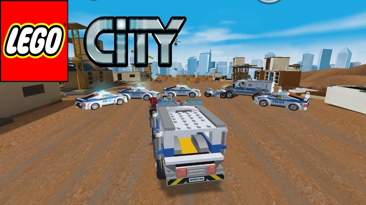 Lego City My 1 2 Police Chase Car Play Walkthrough Android Ios