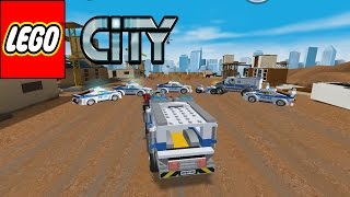 LEGO City My City (1 - 2) - Lego Police Chase | Police Car - gameplay Walkthrough android/ios