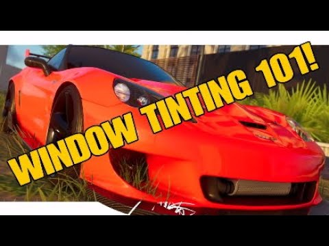 The Crew 2| WINDOW TINTING 101!!!/ HOW TO TINT YOUR WINDOWS?!