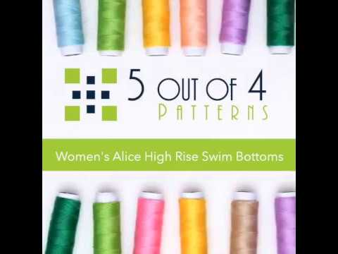 10ca7cd8aeb Women's Alice High Rise Swim Bottoms