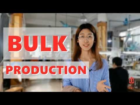 Bulk Production Process—Clothing Line—ApparelWin