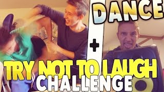 TRY  NOT TO LAUGH CHALLENGE + DANCE ! | Floppes