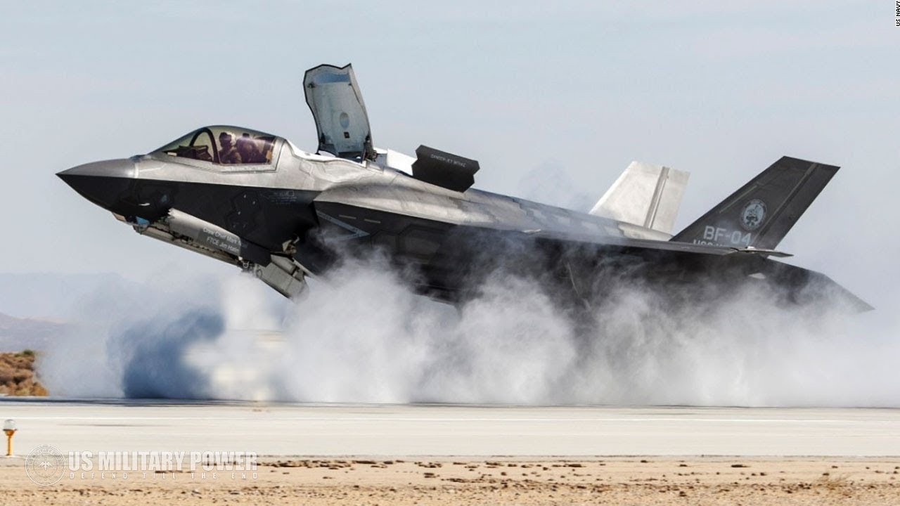 Incredible Video of F-35 Shows Its Insane Ability - Dropping Bomb, Vertical Takeoff and Landing