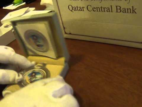 Commemorative Silver Coins from the State of Qatar Central Bank