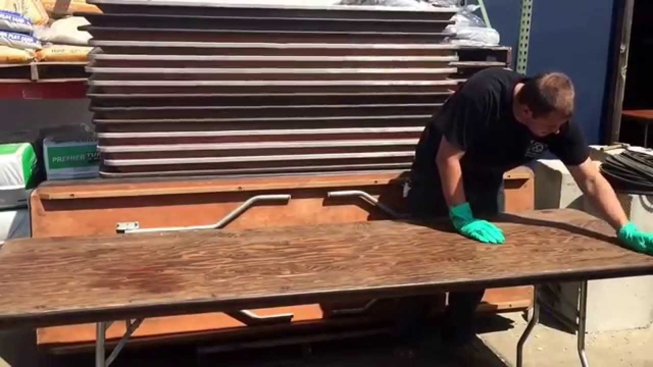 How To Refinish Party Al Tables At Equipment Event In South Jersey