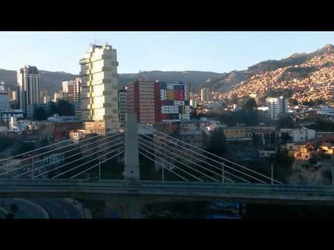 MI TELEFERICO - CABLE CAR - LA PAZ BOLIVIA