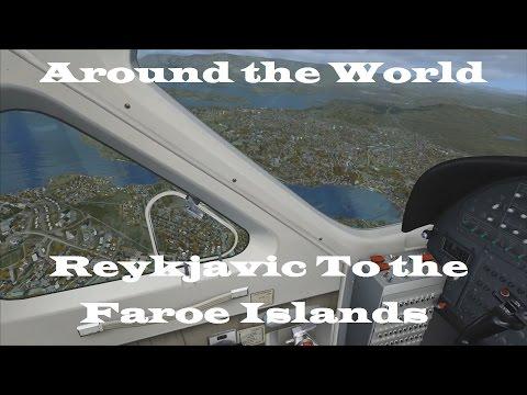 FSX | Around the World Episode #6 - Reykjavik to the Faroe Islands