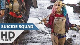 SUICIDE SQUAD All Trailer + Clips + TV Spots (2016)