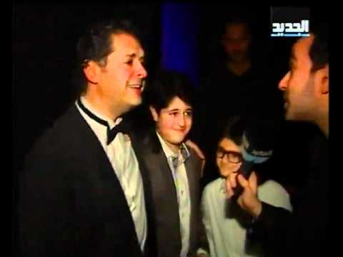 Ragheb Alama - Interview on Al Jadeed TV at Casino Du Liban