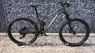 Ghost Slamr 2 7 AL U 27 5R Fullsuspension Mountain Bike 2018