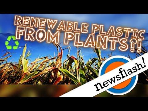 Renewable Plastics Made from Plants