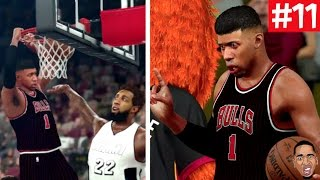 nba 2k17 my career posterized dunks player of the game ep 11
