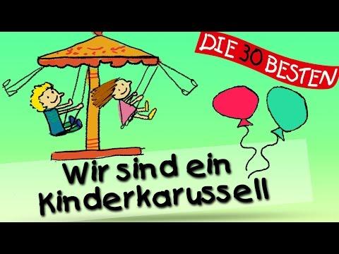Wir sind ein Kinderkarussell - Die besten Kinderturnlieder || Kinderlieder