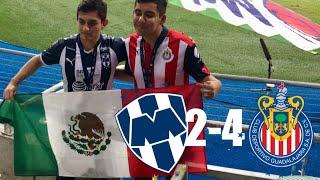 LOS GOLEAMOS EN SU CASA!!! MONTERREY VS CHIVAS 2-4 JORNADA 9 lLIGA MX 2018