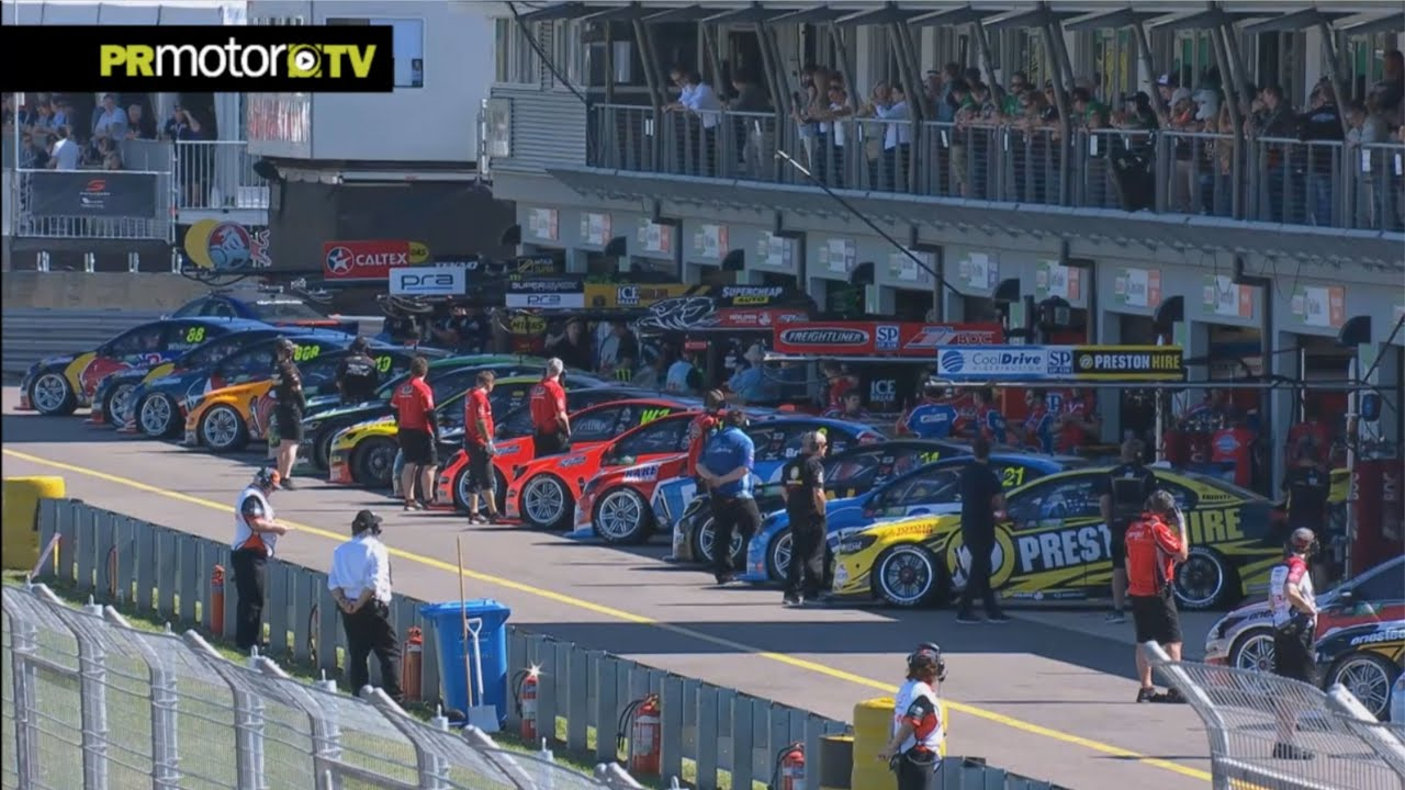 Supercars Highlights Qualifying Race Townsville