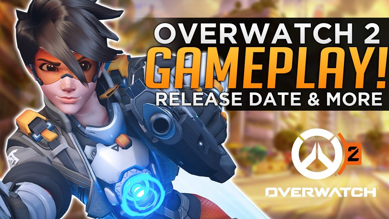 Overwatch 2 Gameplay - Release Date Talk & Push Mode EXPLAINED