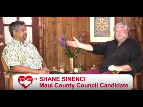 MAUI CAUSES Shane Sinenci