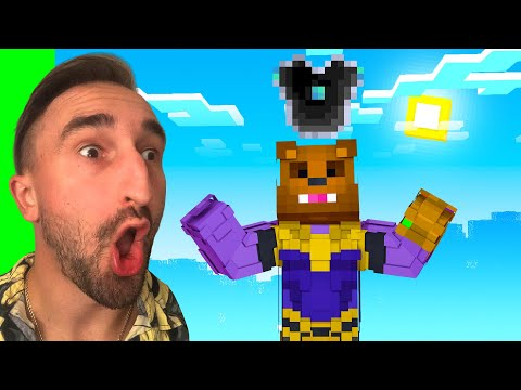 Crafting Infinity Armor To STOP THANOS In Insane Craft W/ SSundee