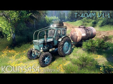 Tractor T-IM v1.1 green