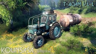 Spintires 2014 - Т-40АМ v1.1