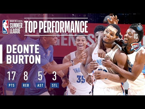 Deonte Burton Comes Up Clutch! In The 2018 MGM Resorts Summer League