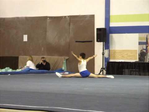 Bailey Gymnastics Routine - Edmonton - Capital City