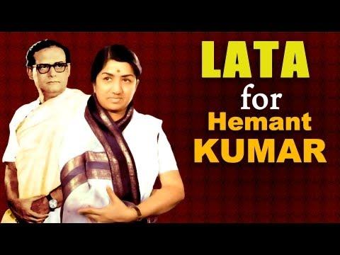 Lata Mangeshkar for Hemant Kumar {HD} - Best of Lata songs for Music Director -Hemant Kumar
