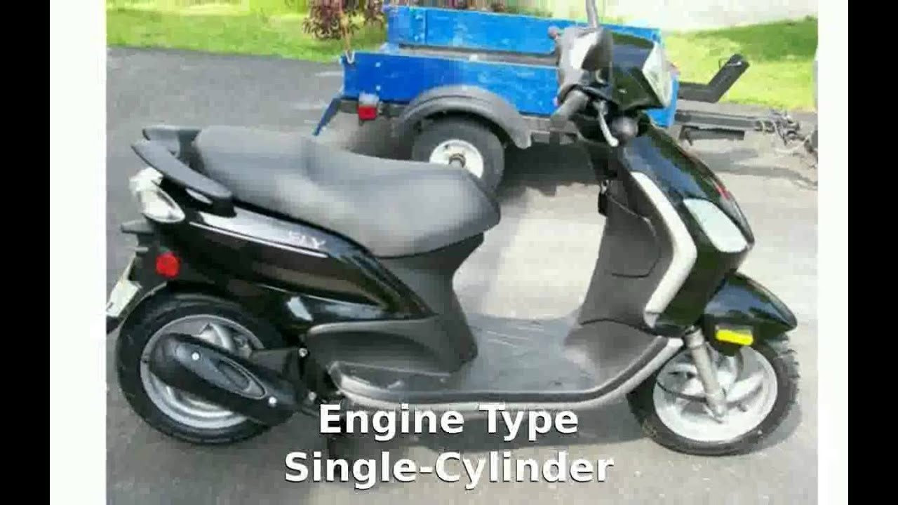2011 piaggio fly 50 - walkaround and features - youtube