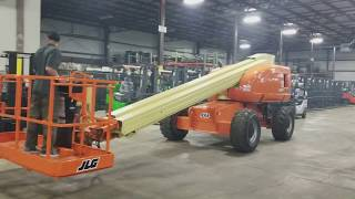 JLG 600S BOOM LIFT RUNNING AND OPERATING