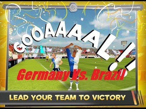 "Disney Bola Soccer ""Germany Vs. Brazil"" (iOS/Android) - 동영상"