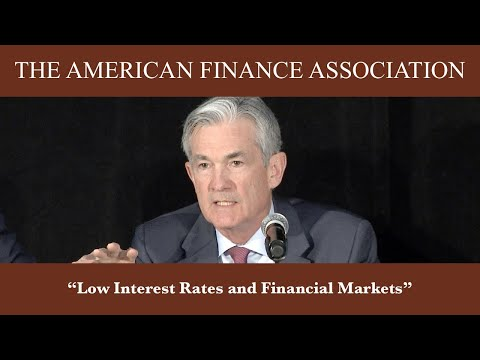 Low Interest Rates and Financial Markets