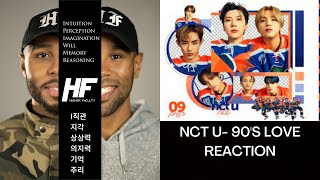 NCT U - 90's Love REACTION VIDEO (K-POP) Higher Faculty