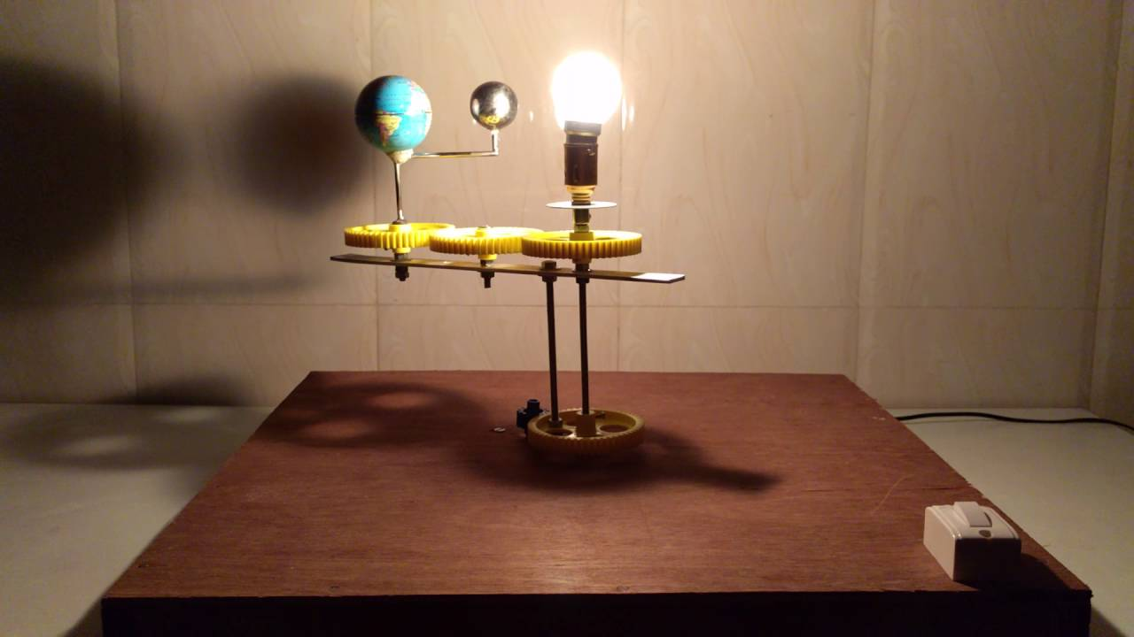 Solar And Lunar Eclipse Model For School Project Youtube