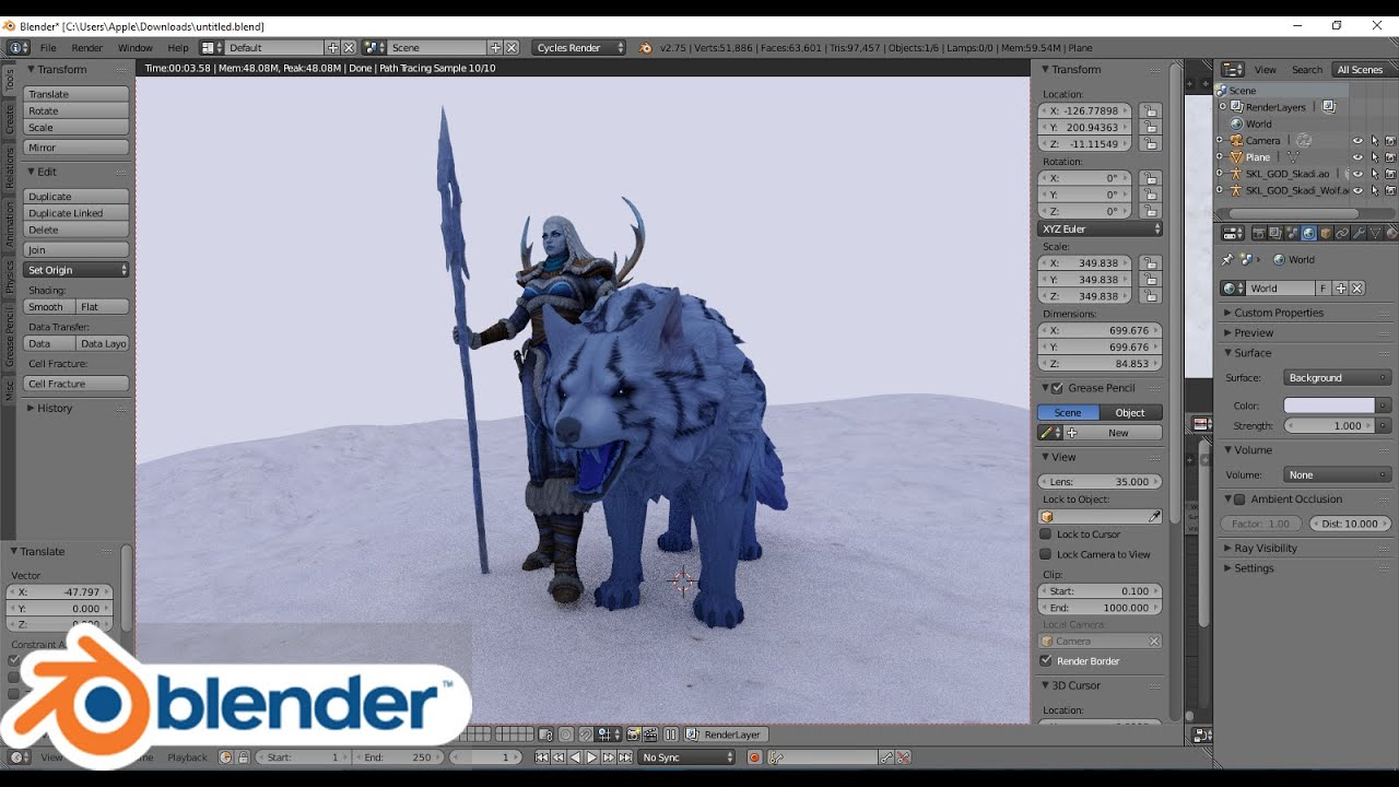 How to import Smite characters into 3d program