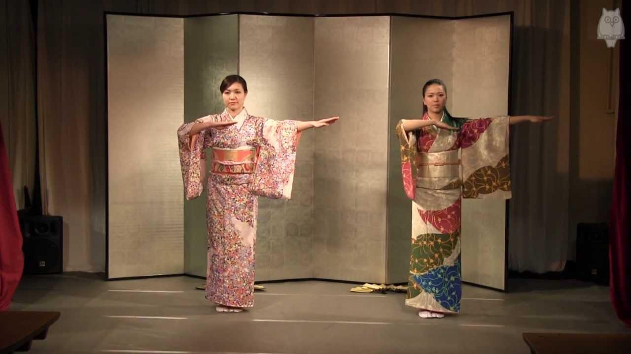 ROUGE宮崎小百合♥船木綾乃 セクシー衣装を脱ぎ2人で日本舞踊~前編