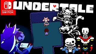 ALL THE NEW CONTENT ON NINTENDO SWITCH UNDERTALE!! Mew Mew Genocide/Pacifist Boss Fight!