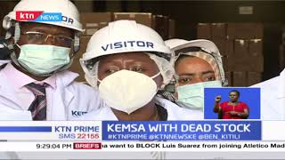 Stock worth 6.1 billion shillings is lying idle at the kenya medical supplies agency warehouse