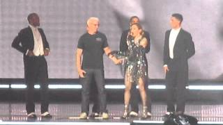 Madonna - Unapologetic Bitch with Anderson Cooper (live at Barclays Center, Brooklyn NY) 09-19-15