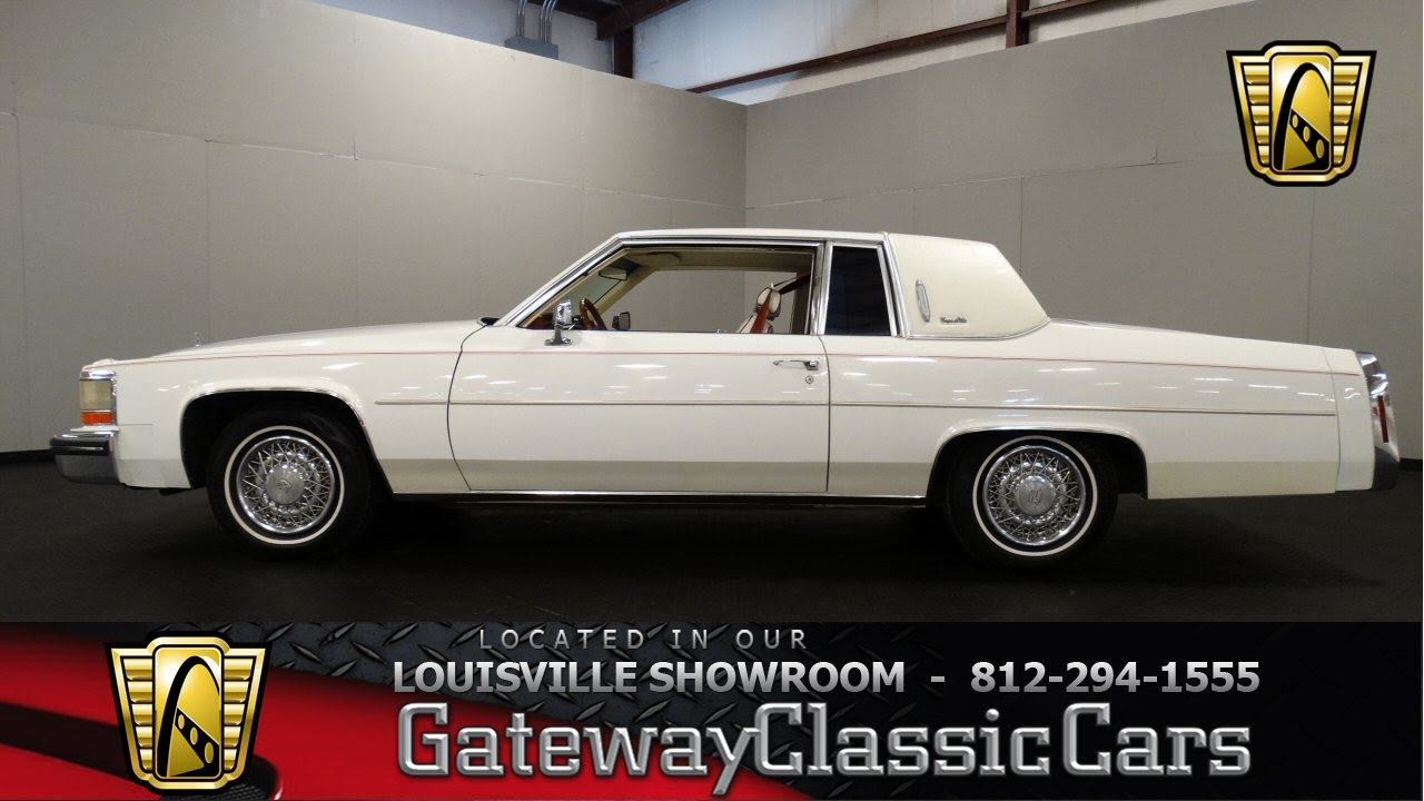 1980 Cadillac Coupe Deville Louisville Showroom Stock 1130 You