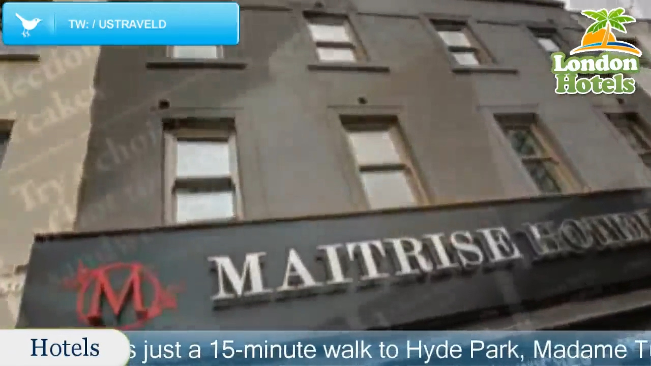 Best Western Maitrise Hotel Edgware Road London Hotels Uk
