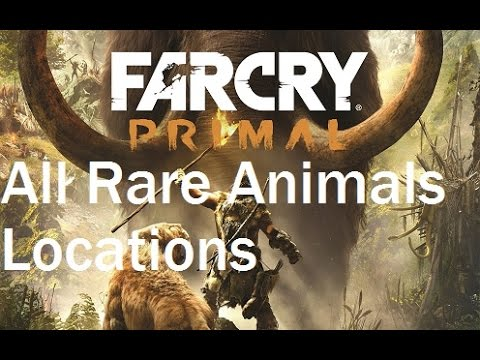 Far Cry Primal How To Find All Rare Animals Yaks, Elks, Wolves Locations