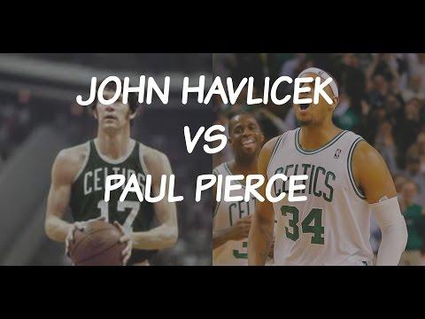 Old School vs New School: John Havlicek vs Paul Pierce
