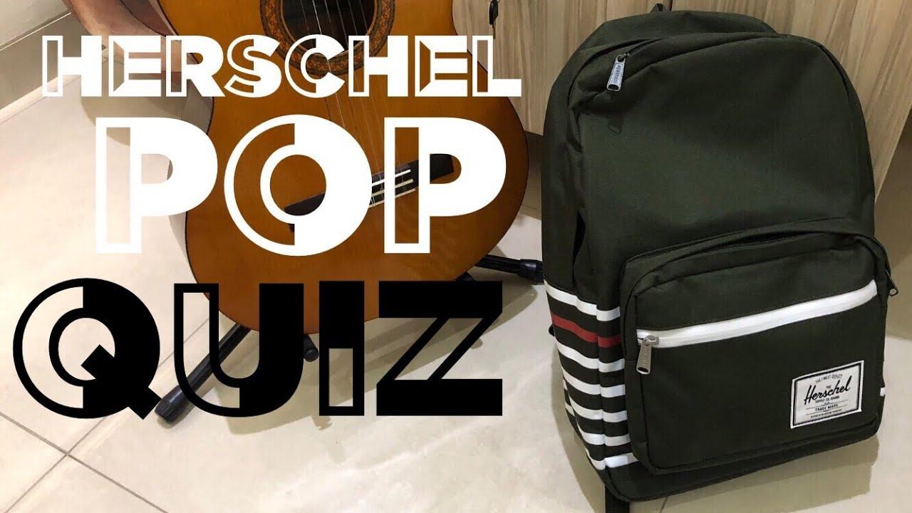 ab0435af27418 Best Back to School Backpack   Herschel Pop Quiz Review ! - YouTube
